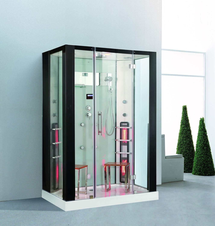 Trade-Line-Partner - Ducha de vapor (145 x 90 cm, con sauna ...