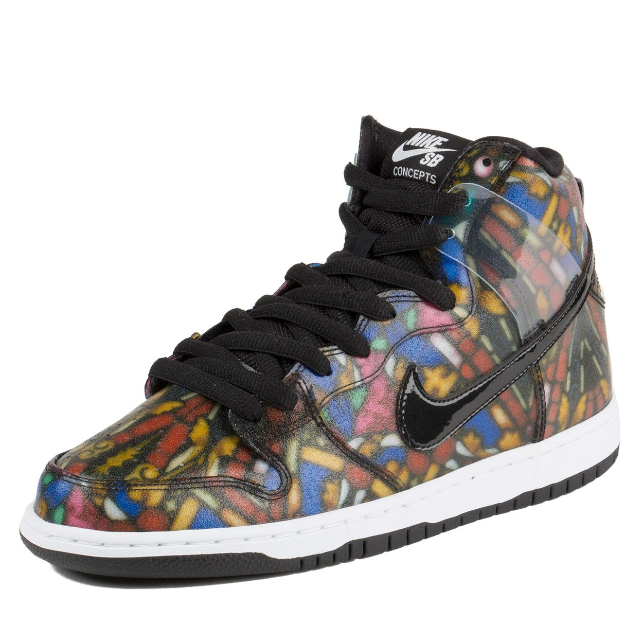 Nike Dunk HI Pro SB - 8 ''Concepts Stained Glass'' - 313171 606 by NIKE