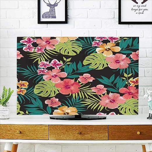 Analisahome Protege tu televisor Tropical Flor plantfondo Hawaiano ...