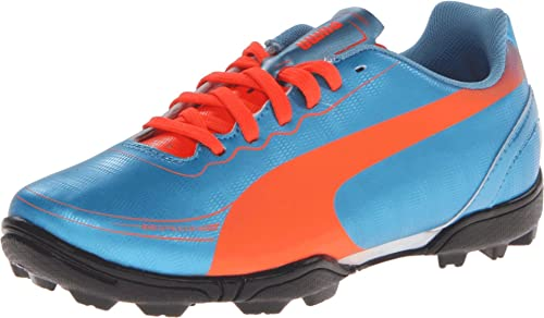 caaaf8753ca PUMA Evospeed 5.2 Turf JR Soccer Shoe (Little Kid Big Kid)