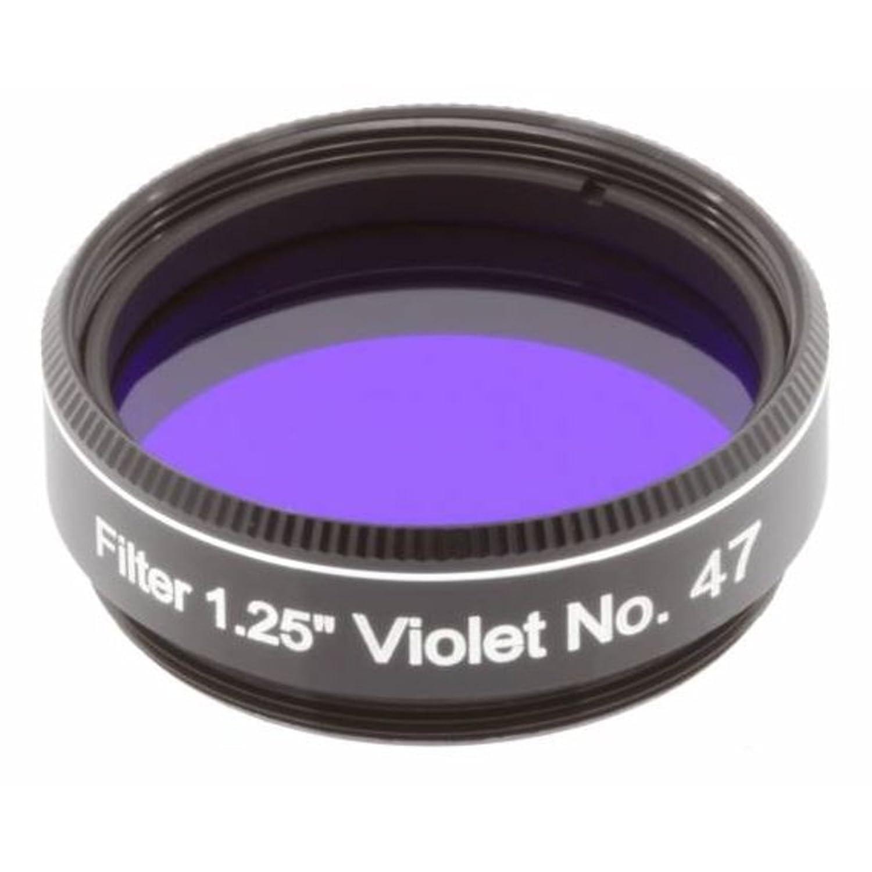 Explore Scientific Filter 1.25 Inch No 47 for Telescopes Purple