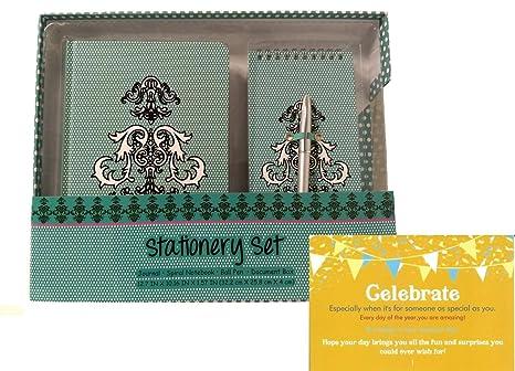 Birthday Gift Stationary Set Box Bundle For Women Teenager Girls Mom Mother Day