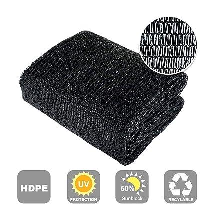 Amazon.com: Shatex tela parasol, Negro: Jardín y Exteriores