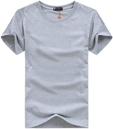 Camiseta de Hombre Camiseta de Manga Corta en Blanco,Camiseta para Hombre, Camisas de Moda de Verano para Hombres Camiseta de Manga: Amazon.es: Ropa y accesorios