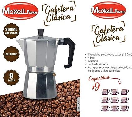 CAFETERA Italiana CLÁSICA Aluminio CAFÉ Junta Silicona 4 Modelos Tazas Cocina (3 Tazas): Amazon.es: Hogar