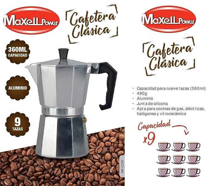 CAFETERA Italiana CLÁSICA Aluminio CAFÉ Junta Silicona 4 ...
