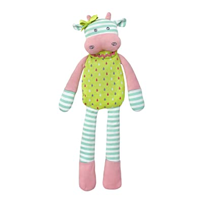 Organic Farm Buddies Plush Toy - Belle Cow, 14 inches: Baby
