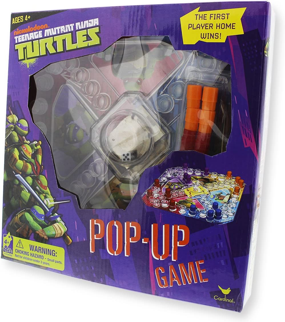 Cardinal Industries Teenage Mutant Ninja Turtles Pop Up Board Game