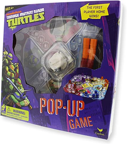 Nickelodeon Teenage Mutant Ninja Turtles 72 piece Memory Match Game Cardinal