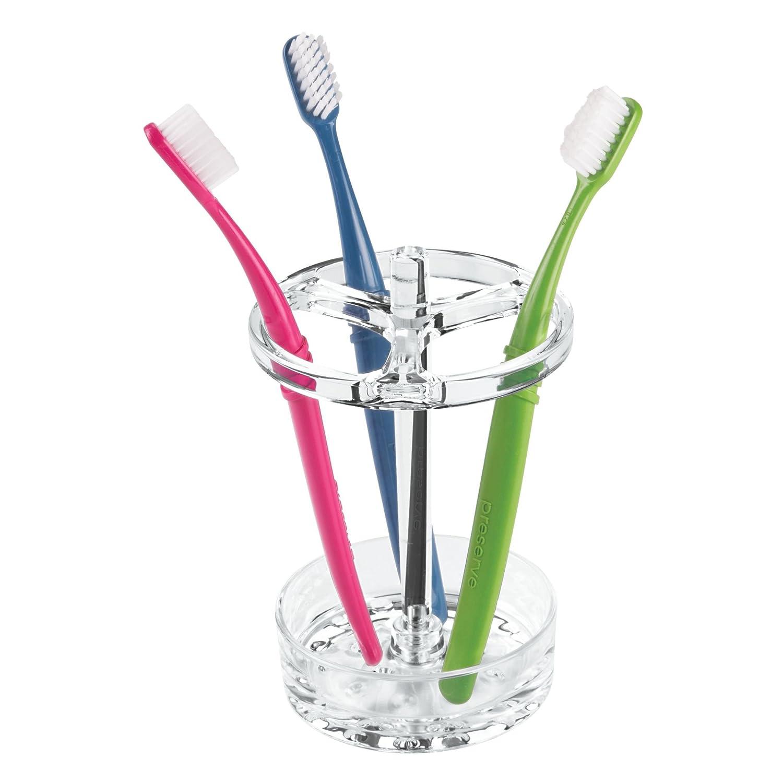 iDesign Portacepillos de dientes, soporte para cepillos de dientes ...