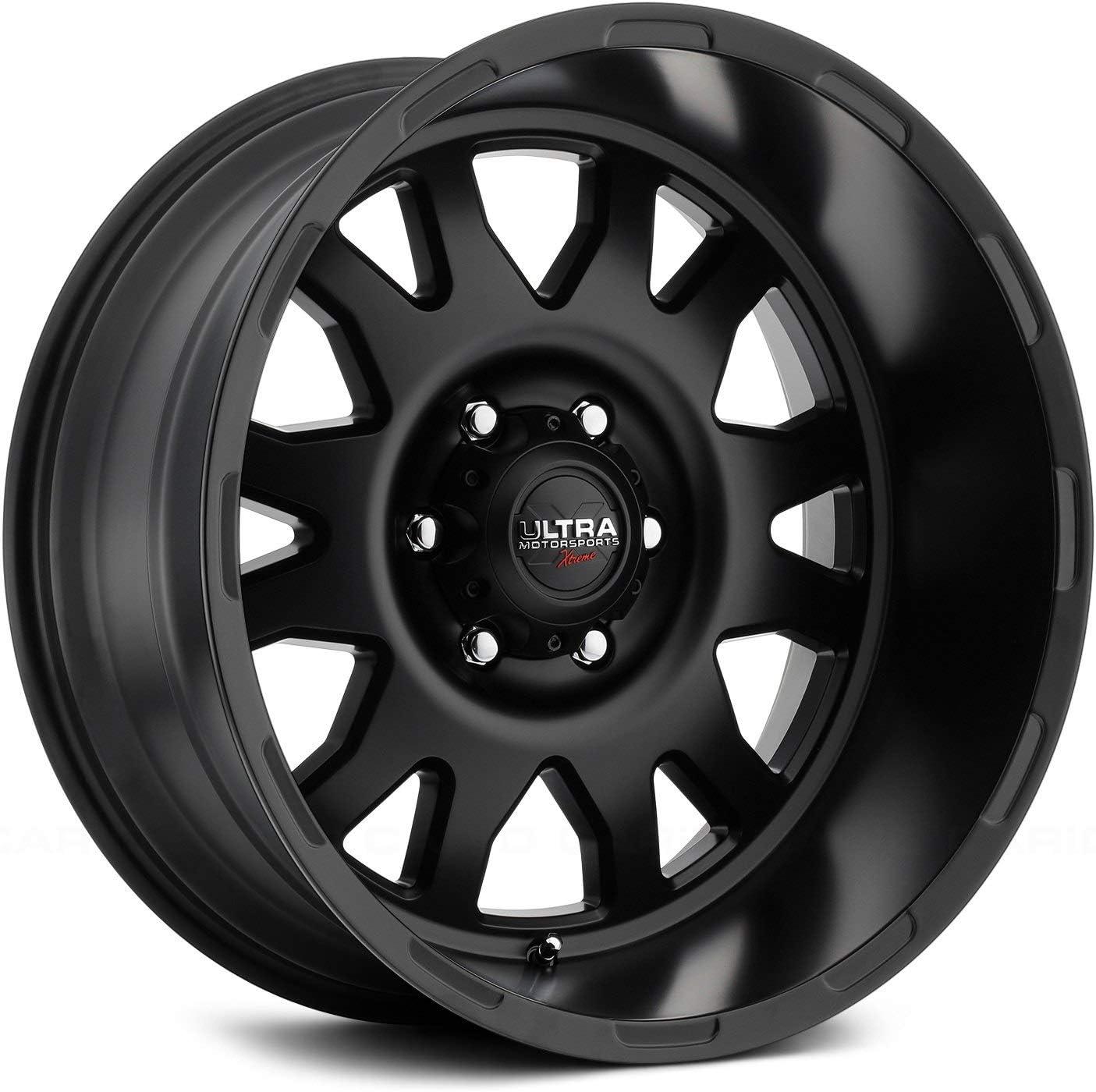 Ultra 108SB X108 Xtreme 20x12 8x165.1-44mm Satin Black Wheel Rim