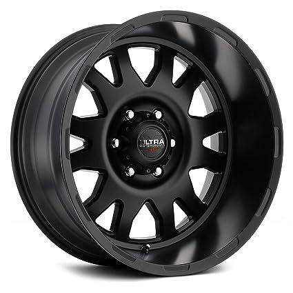 45mm Satin Black Wheel Rim Ultra 450SB Toil Van 16x6.5 5x130