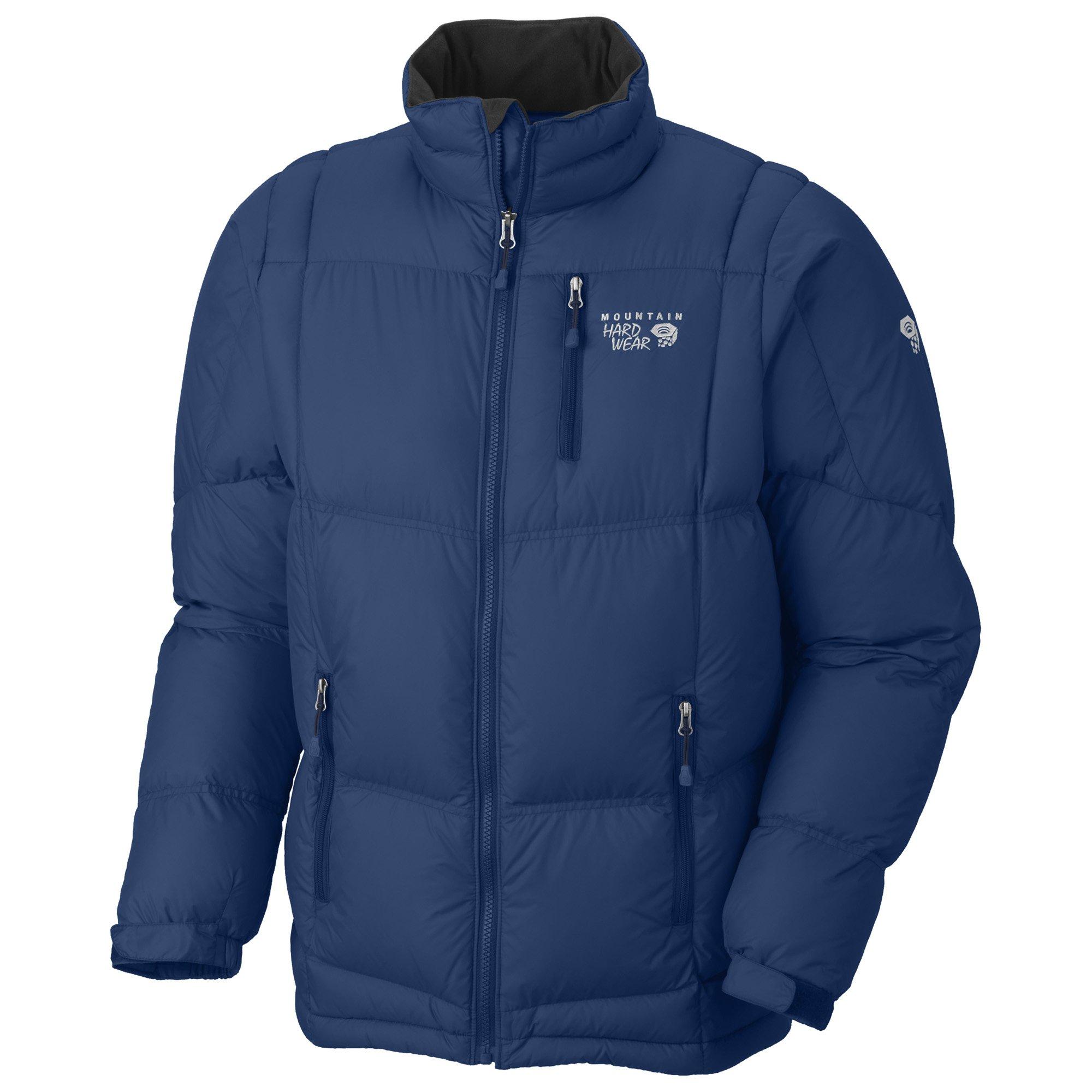 Mountain Hardwear Lodown Jacket Royal Mens Sz M by Mountain Hardwear