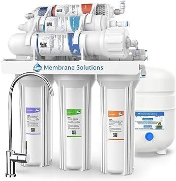 Sistema de filtro de agua alcalino de 6 etapas para remover el ...