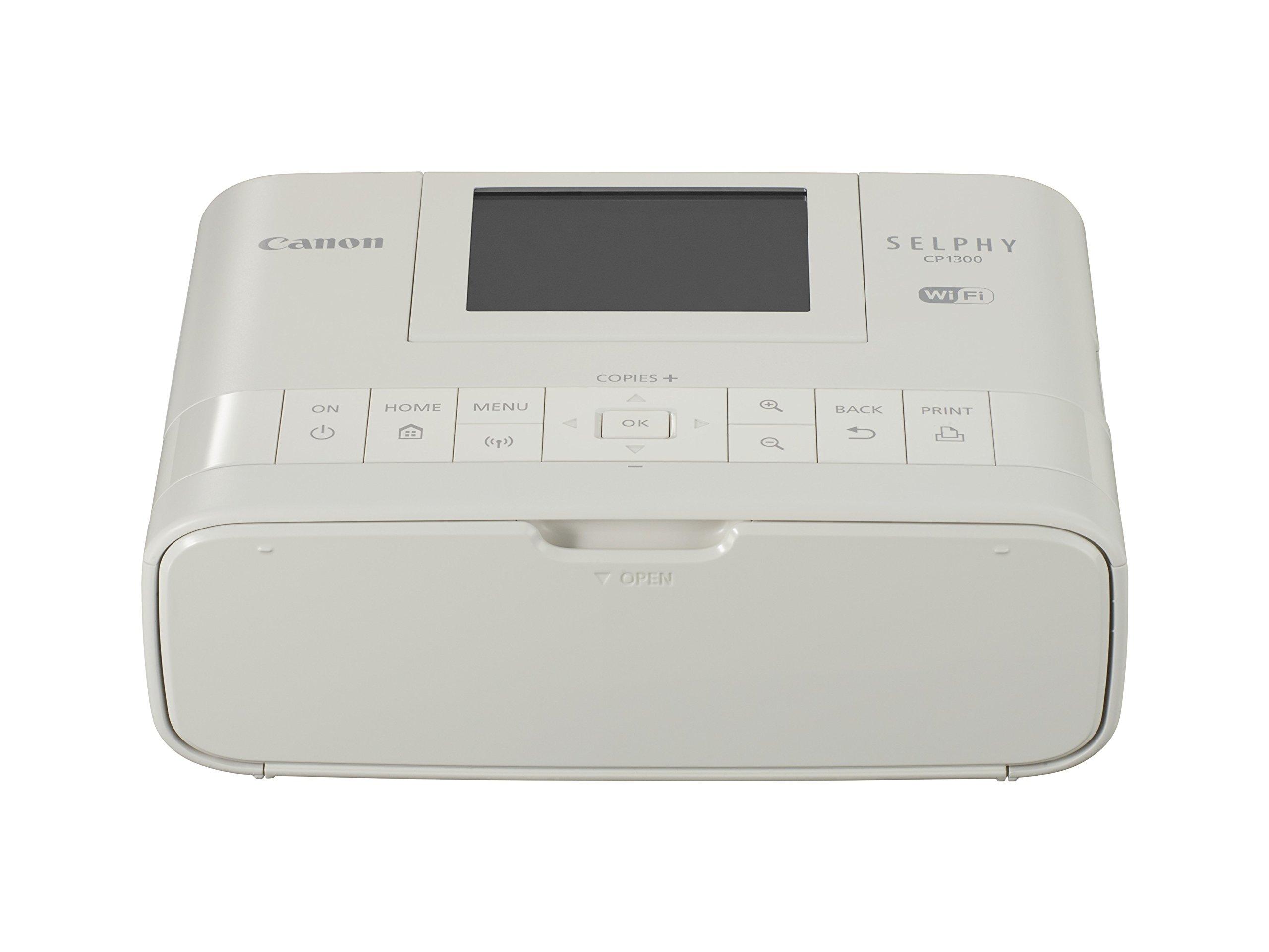 Canon SELPHY CP1300 Compact Photo Printer - White, Portable