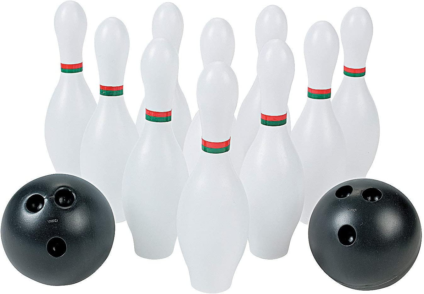 Fun Express - Bowling Set (12pc) - Toys - Games - Indoor & Mini Game Sets - 1 Piece