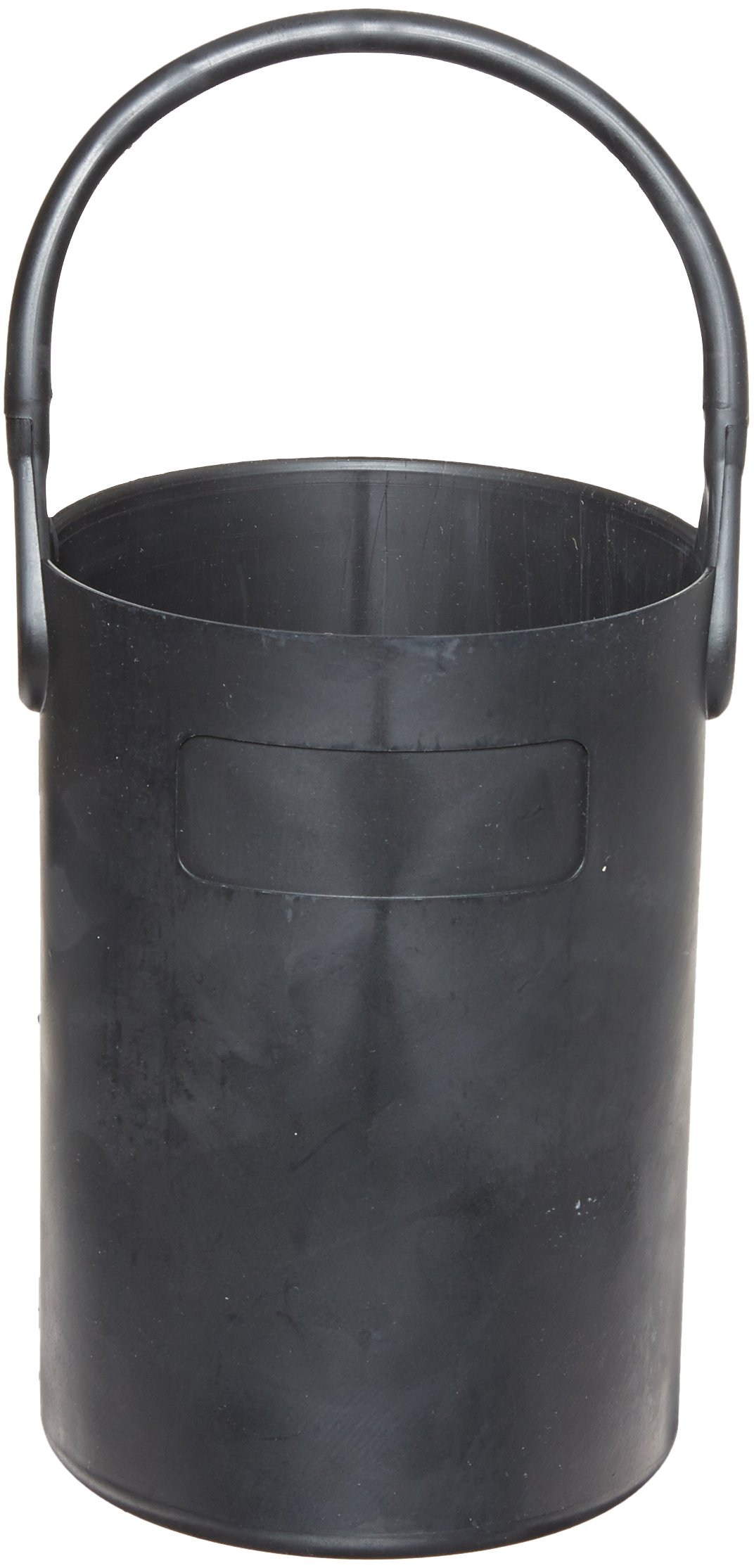 Eagle Thermoplastics B-102 Thermoplastic Safety Bottle Tote Carrier, Black, 16'' Height