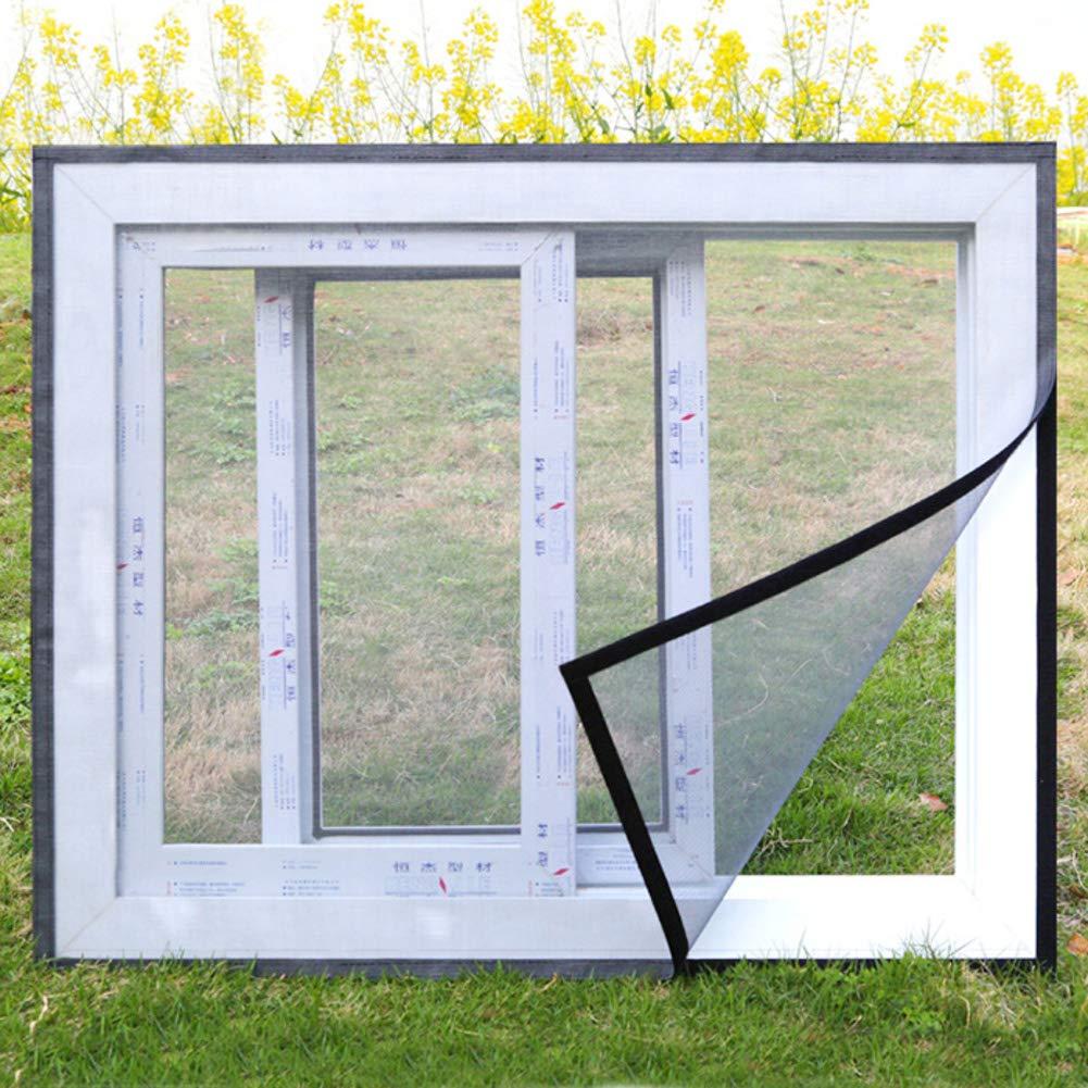 M/énage Magn/étique Moustiquaire 24x31inch Anti-mosquito Auto-adh/ésif Non-simple Aimant Rideau en maille Aimants /& plein cadre velcro D/émontage-blanc 60x80cm