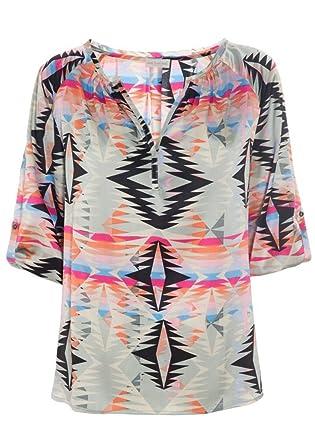 DEA KUDIBAL Natali Tunic Top - Pink, S: Amazon co uk: Clothing