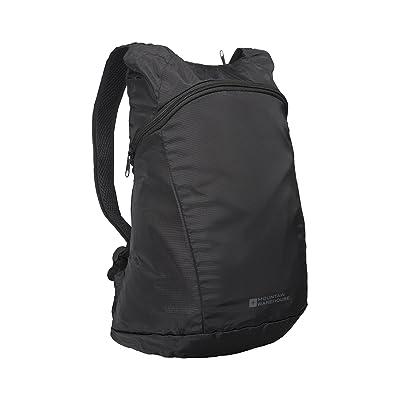 Mountain Warehouse Packaway Baluchon - sac à dos léger, stockage compact Daysack, sac imperméable à l'eau, coutures attachées du ruban adhésif