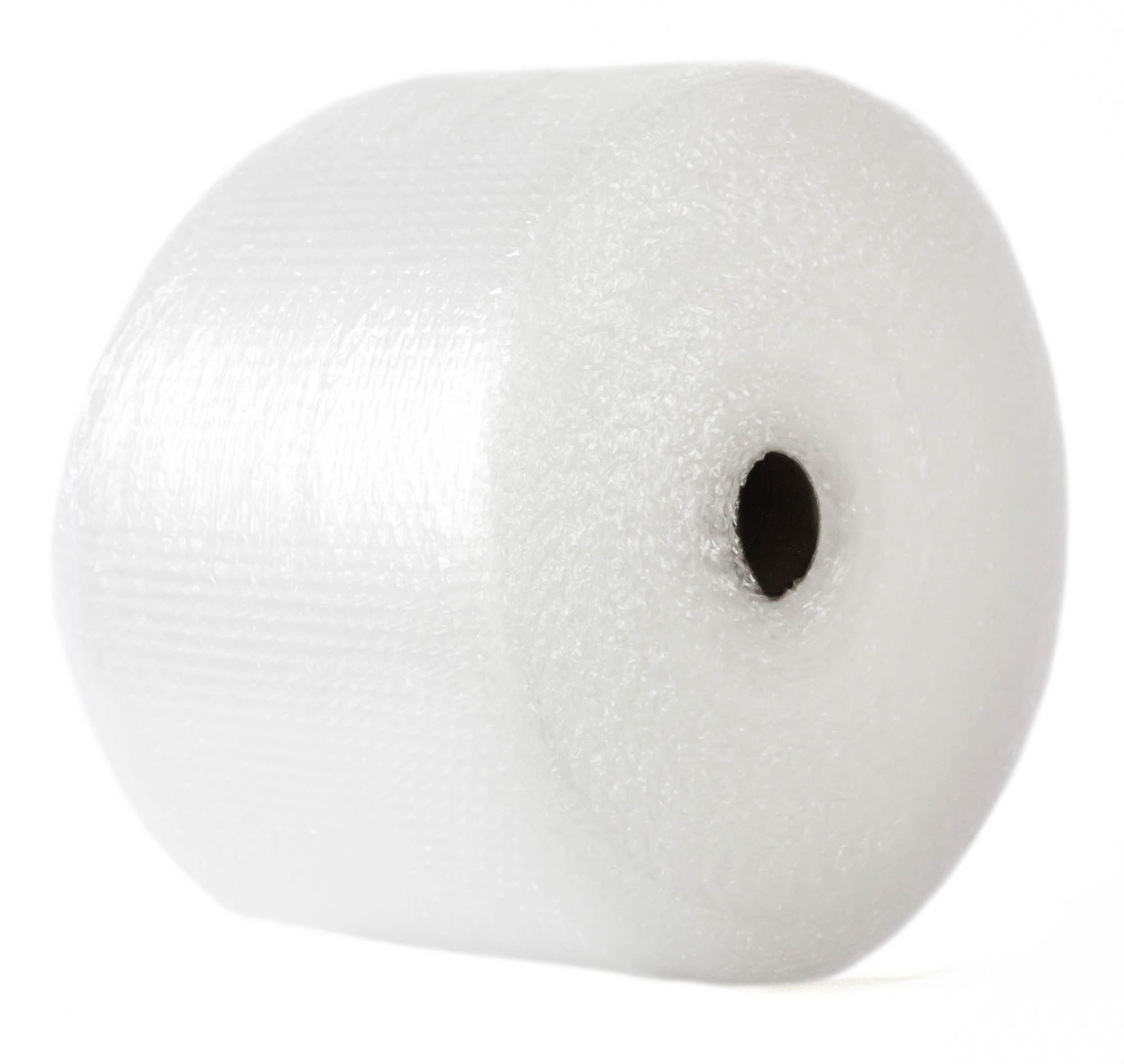 Small 3/16 inch Bubble Cushioning Wrap Slit 12 by 12 Perf 525 Foot Roll Lightweight Protective Packaging Material in Rolls/Perforated Sheets for Moving, Shipping, Padding and Packaging by B2Bboxes (Image #1)