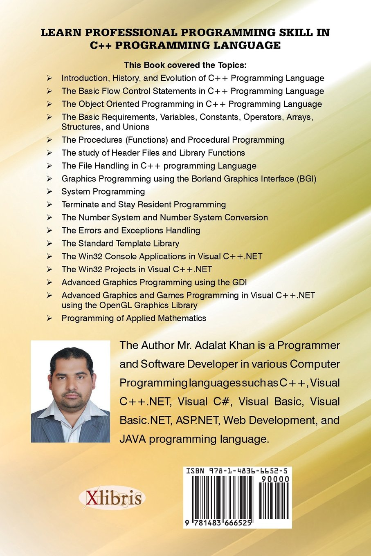 Learn Professional Programming Skill in C++ Programming Language