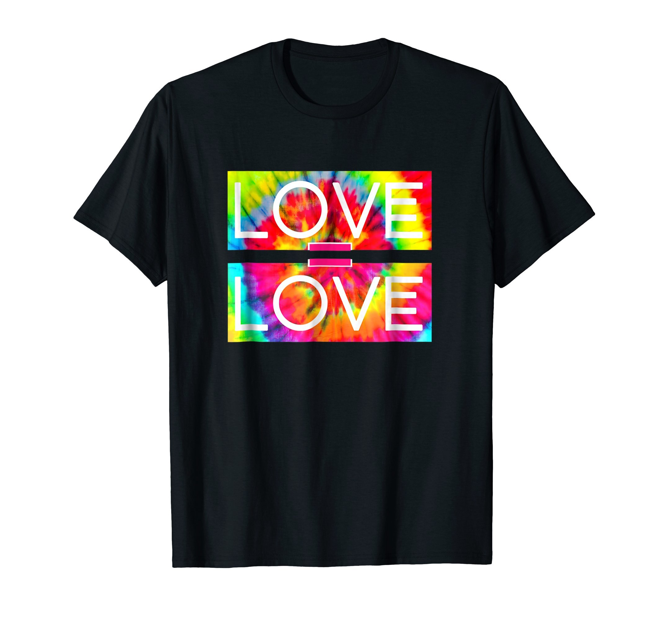 LOVE IS LOVE | LGBTQ 2018 PRIDE MARCH TIE DYE GIFT SHIRT