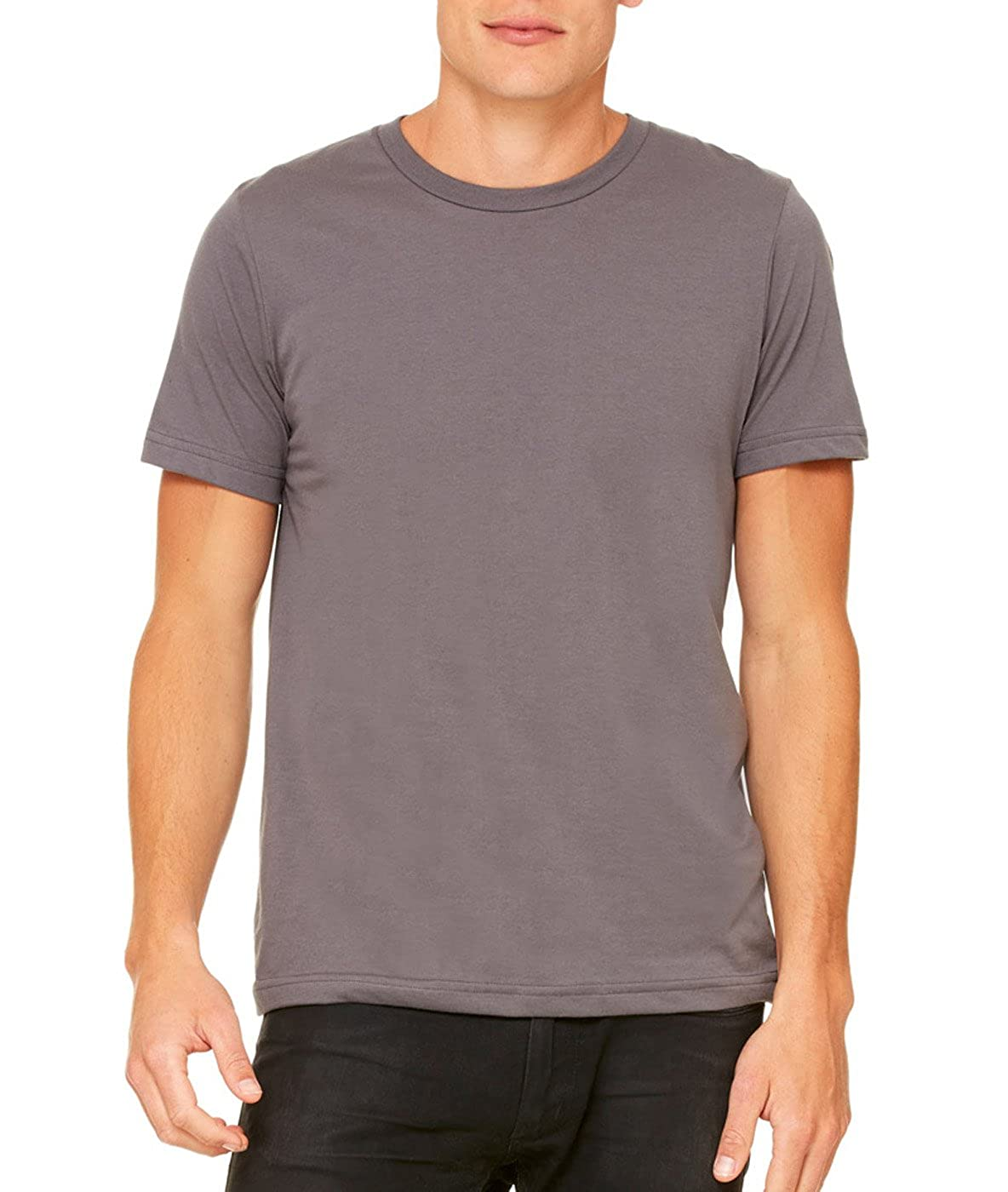 ASPHALT Canvas Unisex Poly-Cotton Short-Sleeve T-Shirt 3650 Bella