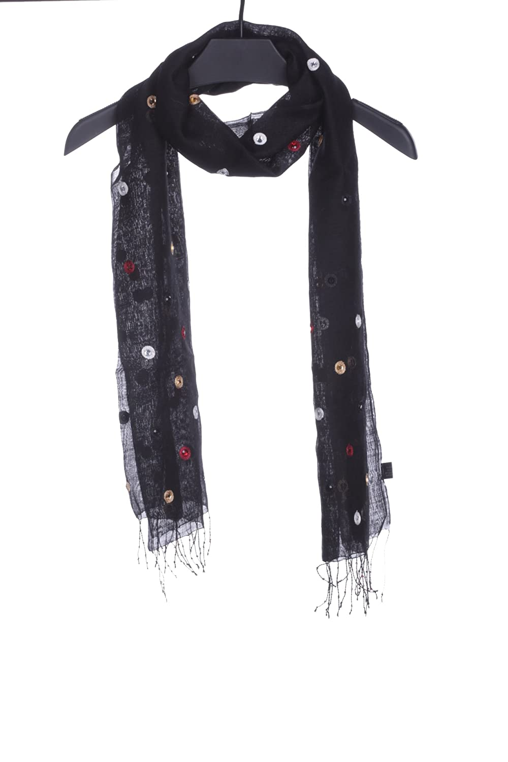 2016 new India Wind blended dyed hand-beaded scarf