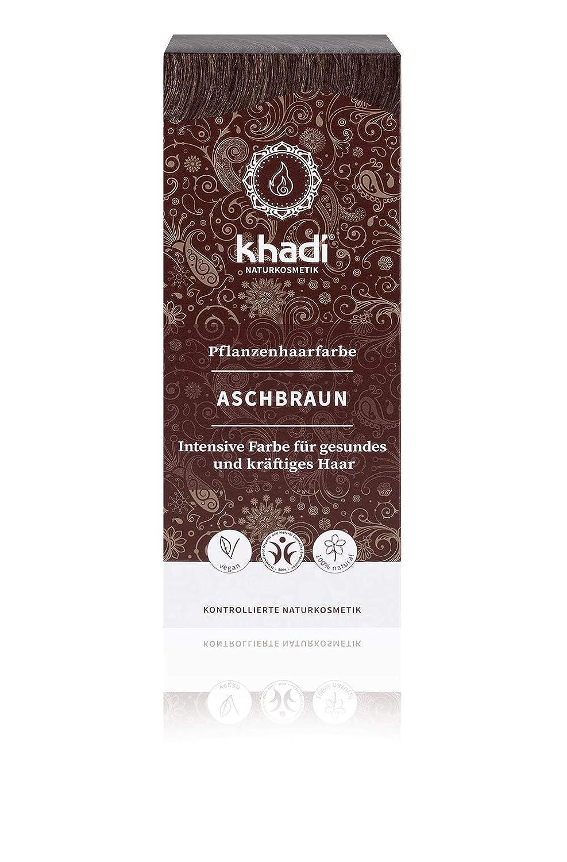 Khadi Pflanzenhaarfarbe Aschbraun 100g I Haarfarbe Für Mattes Und