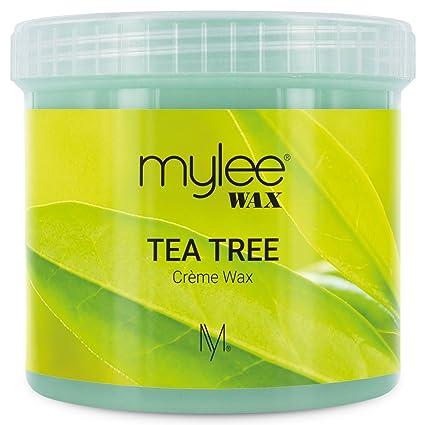 Mylee Cera De Arbol De Té Suave en Crema para Pieles Sensibles 425g, Pote de