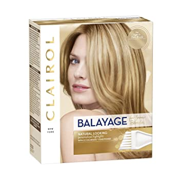 Amazon Com Clairol Nice N Easy Balayage Natural Looking Blond