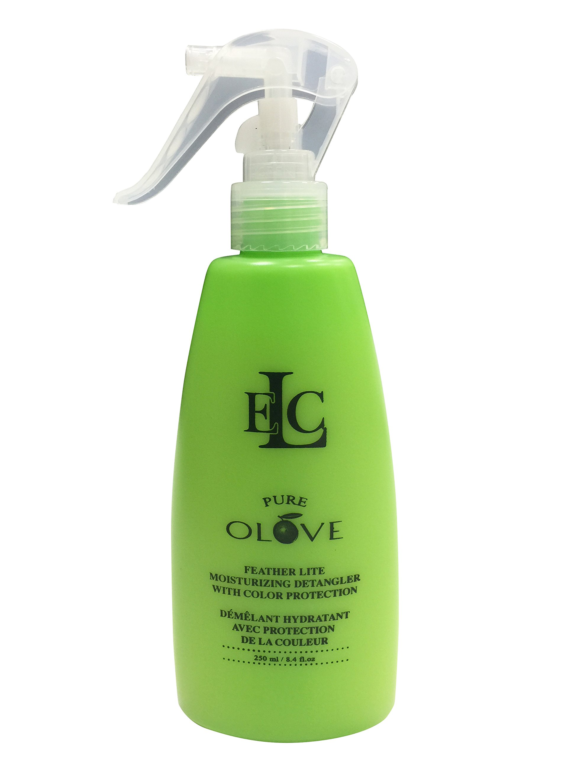 ELC Dao of Hair Pure Olove Feather Lite Moisturizing Detangler with Color Protection - 8.4 Fl Oz / 250 ml