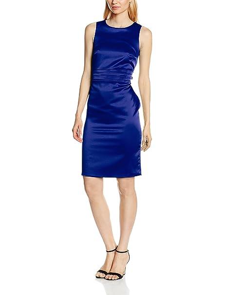 HotSquash The Lucy, Vestido para Mujer, Azul (Royal Blue), 36