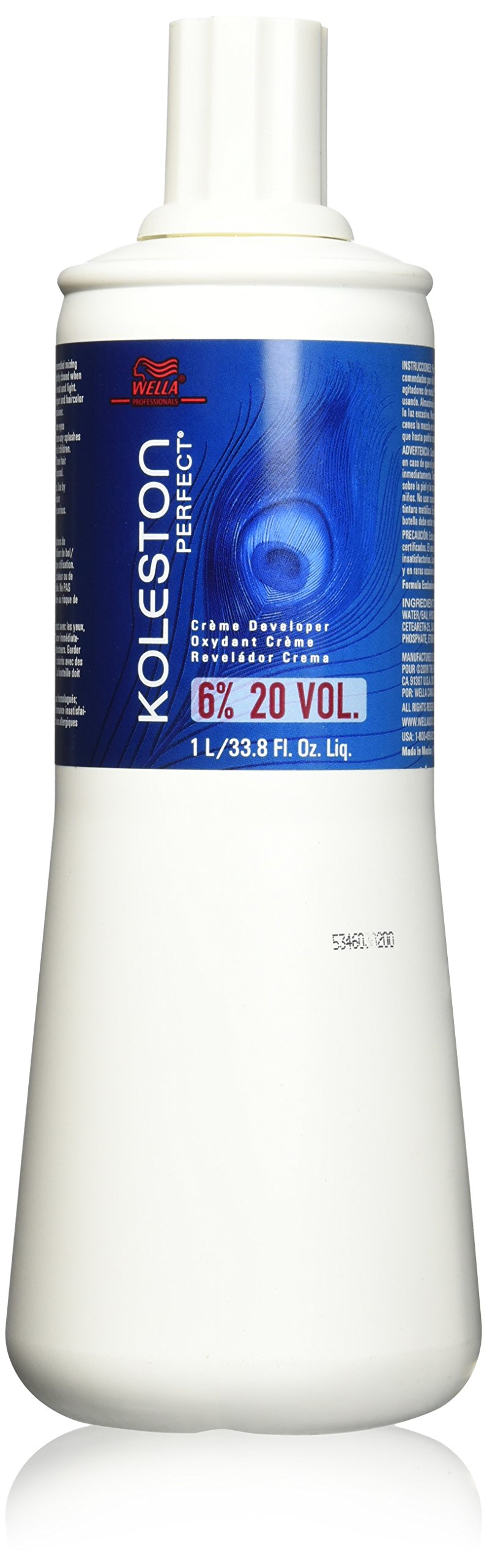 Wella Koleston Perfect 6 Percent Creme Developer, 33.8 Ounce
