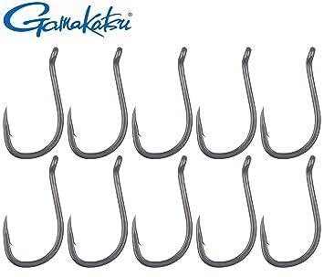 Karpfenhaken Gamakatsu Angelhaken G-Carp Specialist RX Größe 2, 4, 6, 8