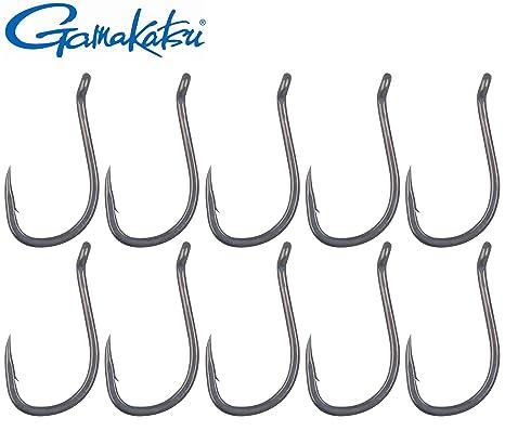 Gamakatsu LS-5314 Hook schwarz Angelhaken Haken für Friedfische Karpfenhaken
