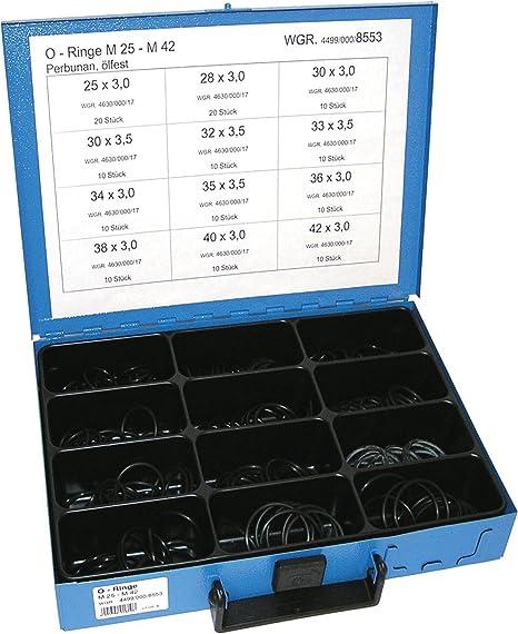 Juego de juntas t/óricas m/étricas 419 piezas Draper 56345
