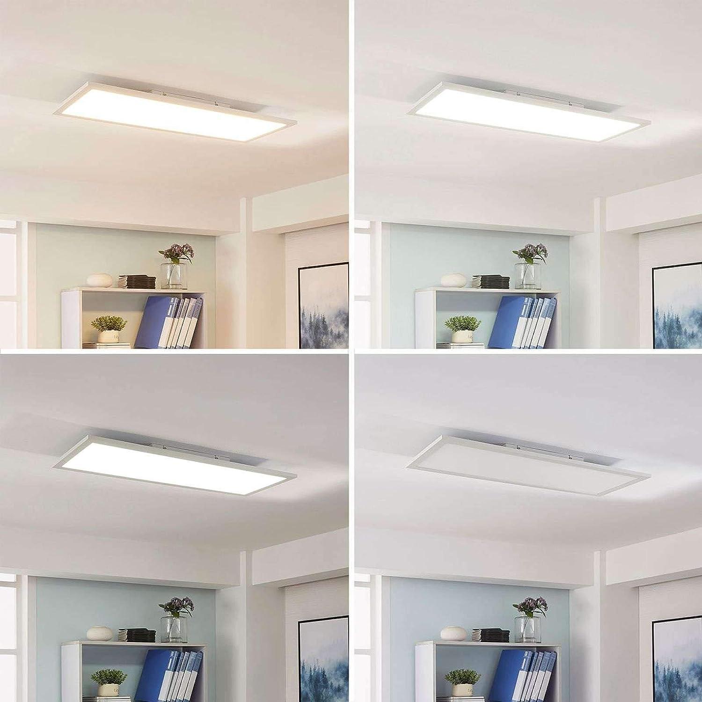LED Deckenlampe Livel Panel Arbeitszimmer Lampenwelt Lichtfarbe Variabel Dimmbar