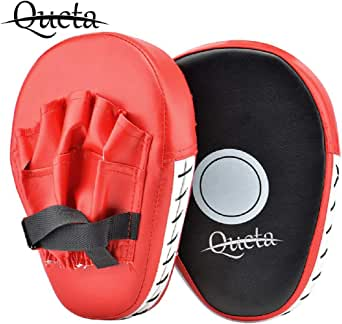 Men's Punching Kicking Palm Hook & Jab Strike Pads Target Mitt Glove for Focus Training of Karate Muaythai Boxing UFC MMA
