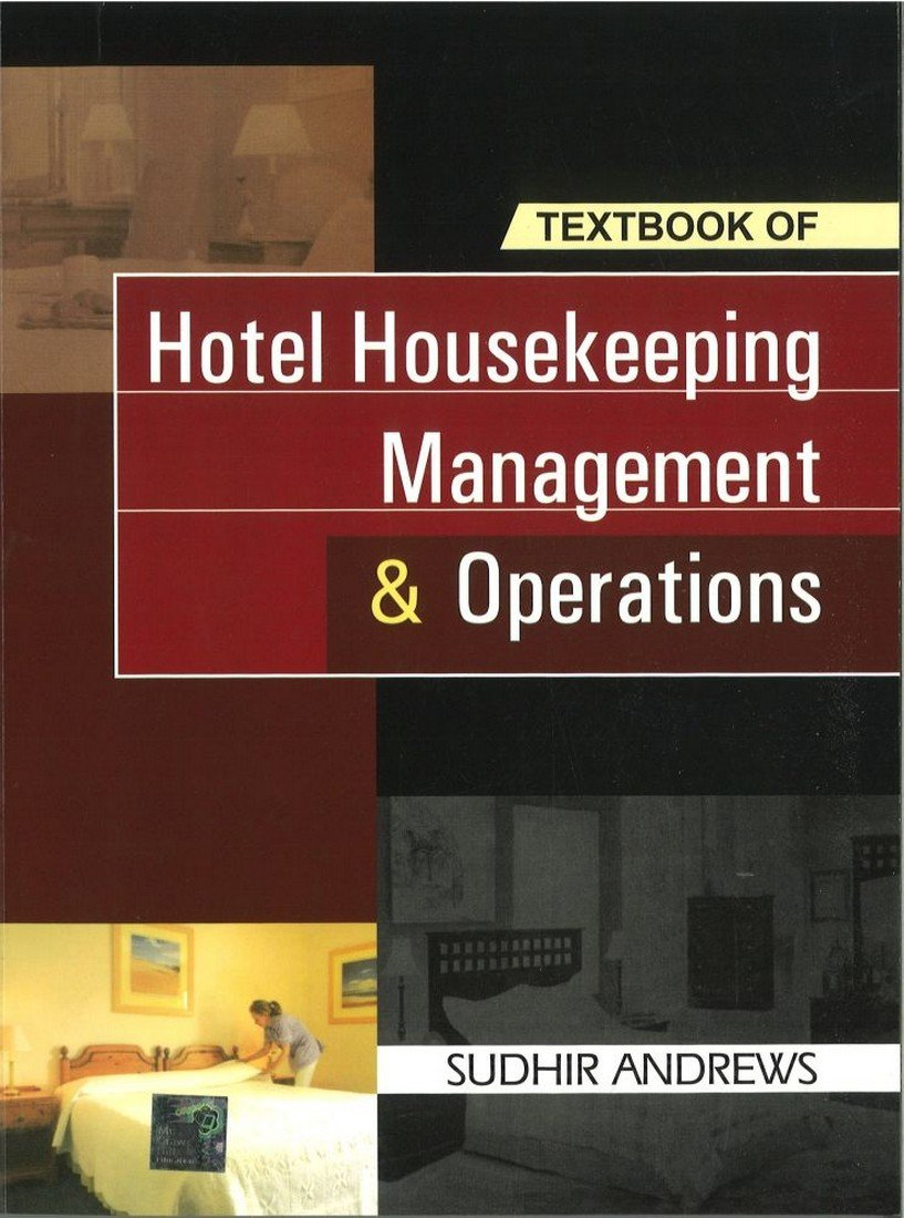 Buy Hotel Housekeeping Management and Operations Book Online at Low Prices  in India | Hotel Housekeeping Management and Operations Reviews & Ratings  ...