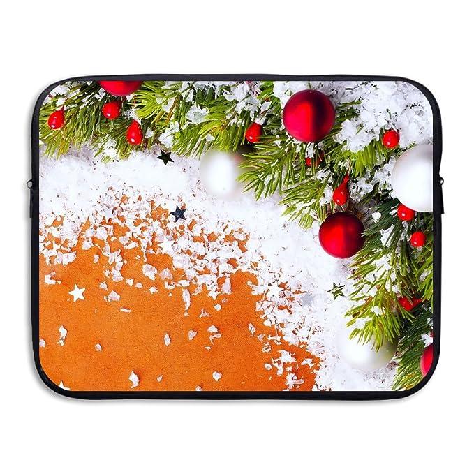 ce64efdd1e1c Amazon.com: Merry Christmas Notebook Briefcase Laptop Sleeve Bag ...