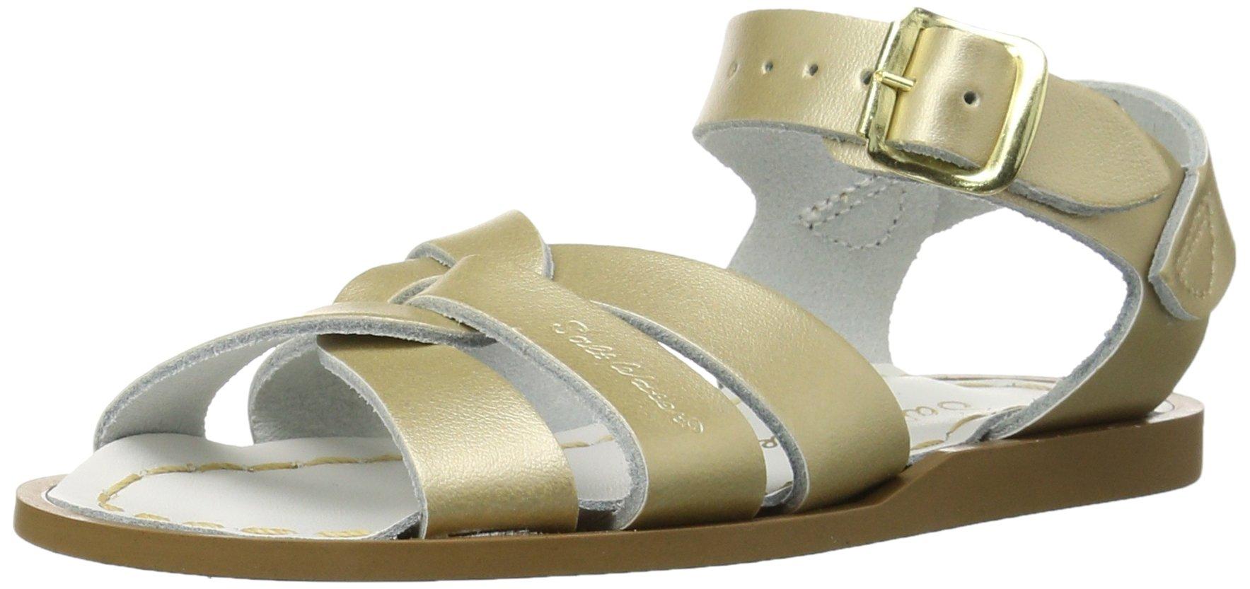 Salt Water Sandals by Hoy Shoe Original Sandal (Toddler/Little Kid/Big Kid/Women's), Gold, 11 M US Little Kid