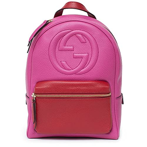 0e18f7ee627 Gucci Soho Small Shoulder Bag Bright Bouganvillia Leather Hot Pink Bag   Amazon.ca  Shoes   Handbags