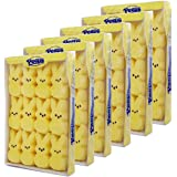 Marshmallow Peeps Yellow (Bunnies) 3.7-Ounce, 12-Count Boxes (Pack of 6) …