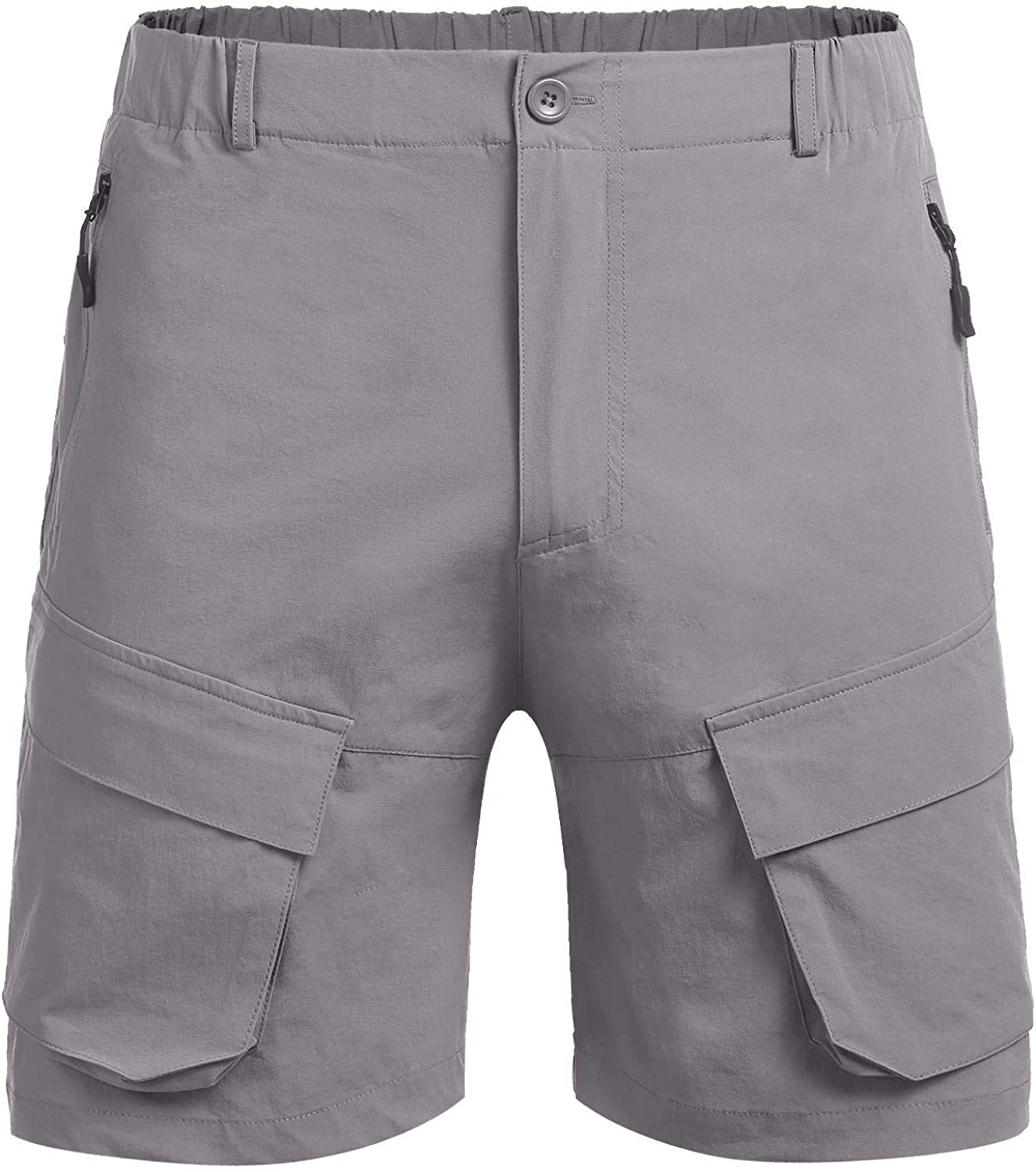 COOFANDY Mens Stretch Cargo Shorts Quick Dry Work Out Shorts for Outdoors Hiking Camping Travel