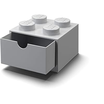 Room Copenhagen Lego Desk Drawer 4, Grey: Toys & Games