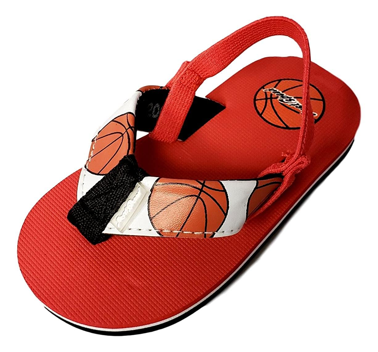 Toddler Boys Sport Themed Summer Sandals