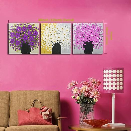 Amazon.com: Mon Art 100% Hand Paintings Digital Oil Painting Wall ...