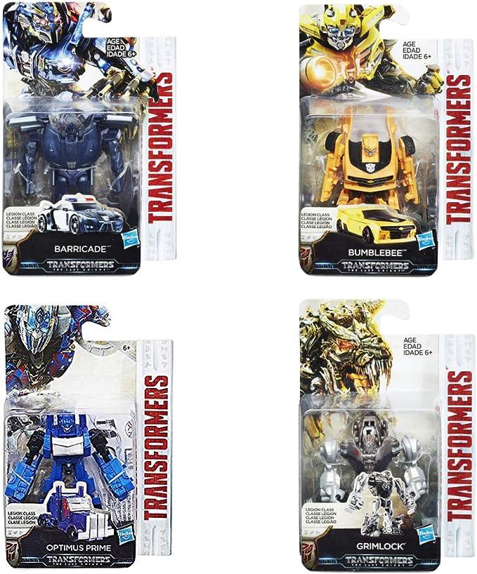 COMICTOYZ Set of 4 Transformers: Legion Class Bumblebee Optimus Prime Barricade Grimlock: Amazon.es: Juguetes y juegos